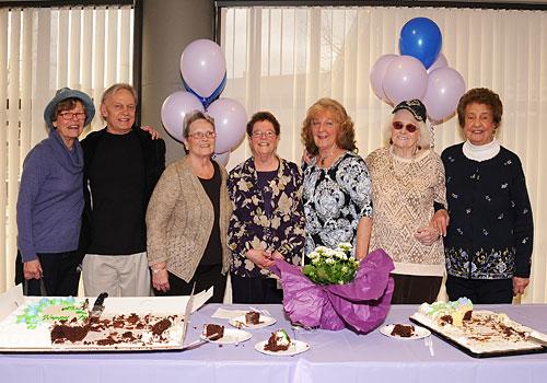 Lucille's retirement party