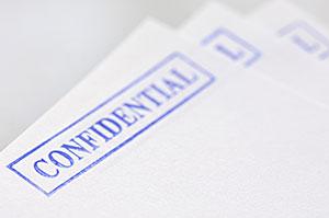 confidential letters