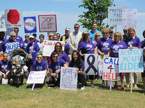 elder abuse prevention walk