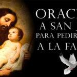 Oración para pedir por los Hijos a San José