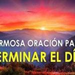 Oración para la noche del martes 20-10-20