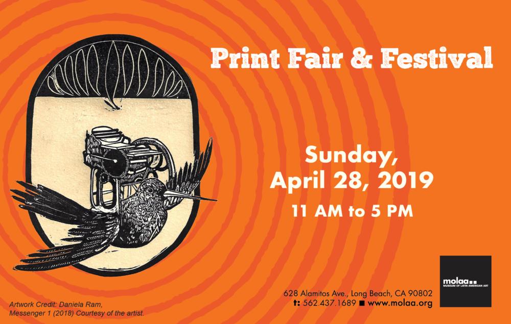 museum of latin american art print fair festival grafica america