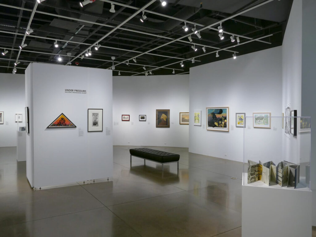 Under Pressure: National Printmaking Exhibition, Lincoln Center, CO