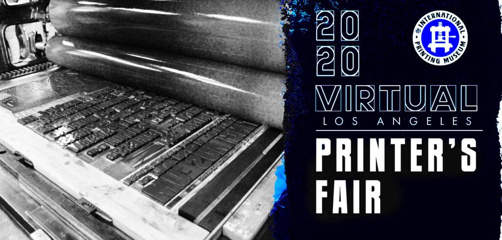 International Print Museum Printer's Fair