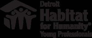 Habitat Detroit Young Professionals-black