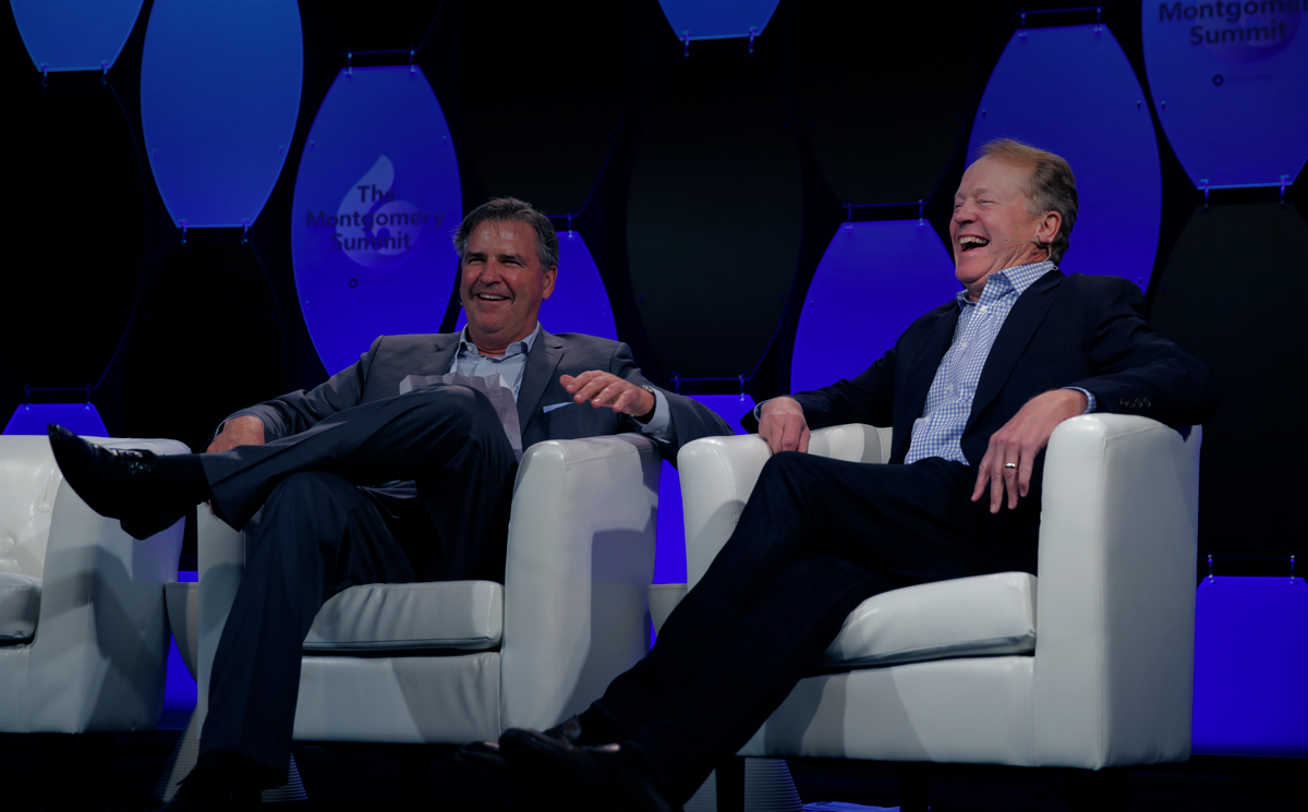 Sharing vision with <strong>global leaders</strong> <br>like <strong>John Chambers</strong>