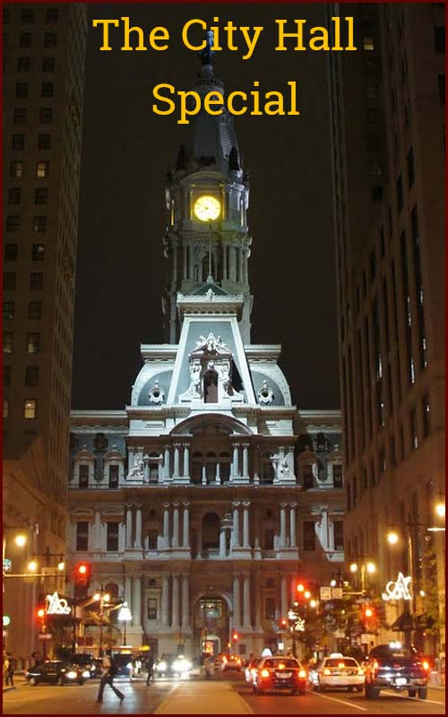 Eatible Delights Catering | Philadelphia Specials | City Hall Special