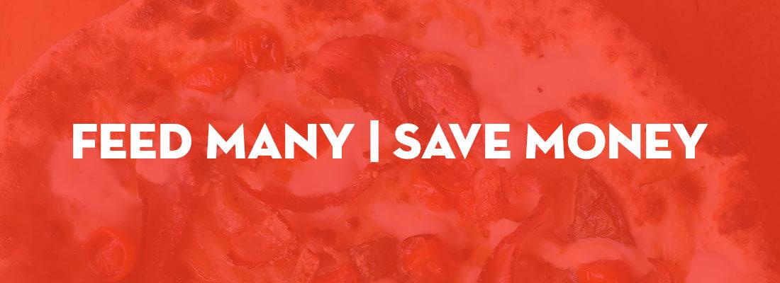 Feed Many, Save Money