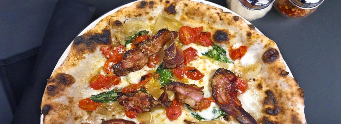 Pizza Special: Pancetta e Pomodoro