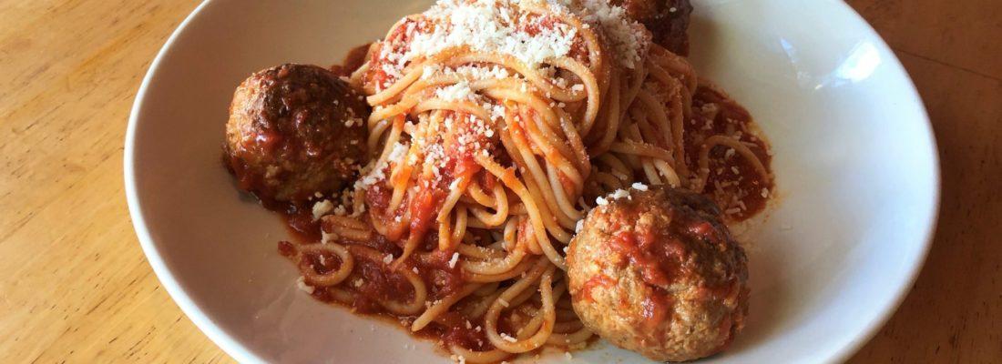 PASTA SPECIAL: Spaghetti & Meatballs