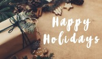 Happy holidays 2020-