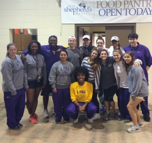 LSU Student Athletic Trainers