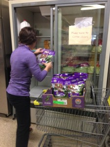 LSU Student works at The Shepherd's Market