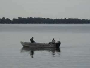 Fishing at McClellands Beach - Spirit Lake - Iowa - 51360