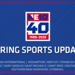 NE 10 Provides Update on Spring Sport Competition