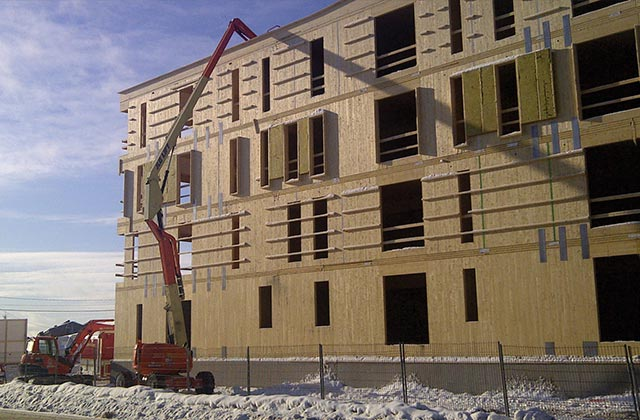 NORDIC X-LAM CROSS-LAMINATED TIMBER (CLT)