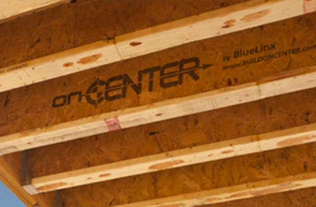 onCENTER BLI joists