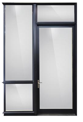 Weather Shield Contemporary Hinged Patio Door