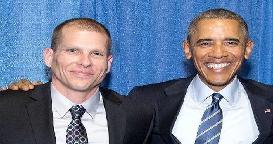 Jeff Copeland With President Barack Obama