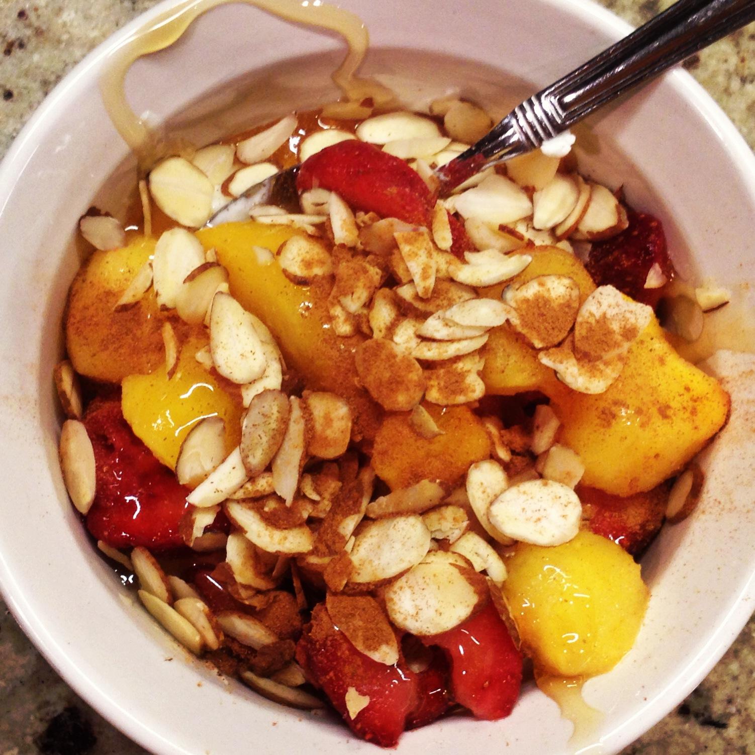 greek yogurt fruit snack