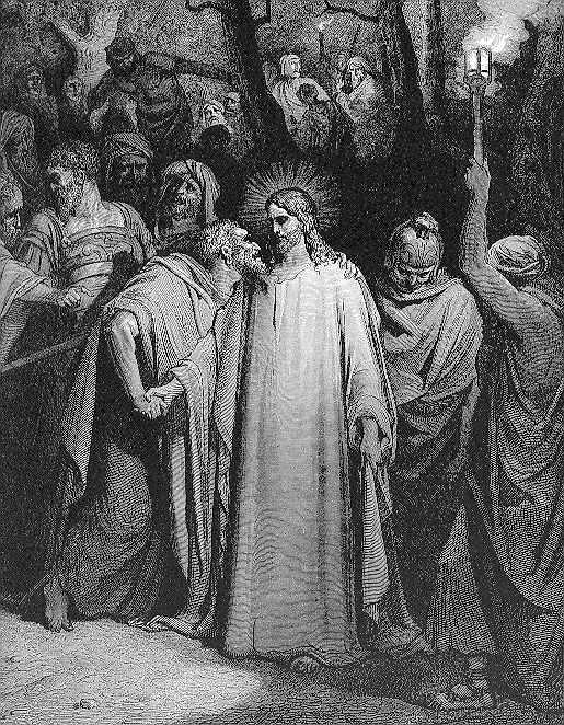 Kiss of Betrayal by Judas