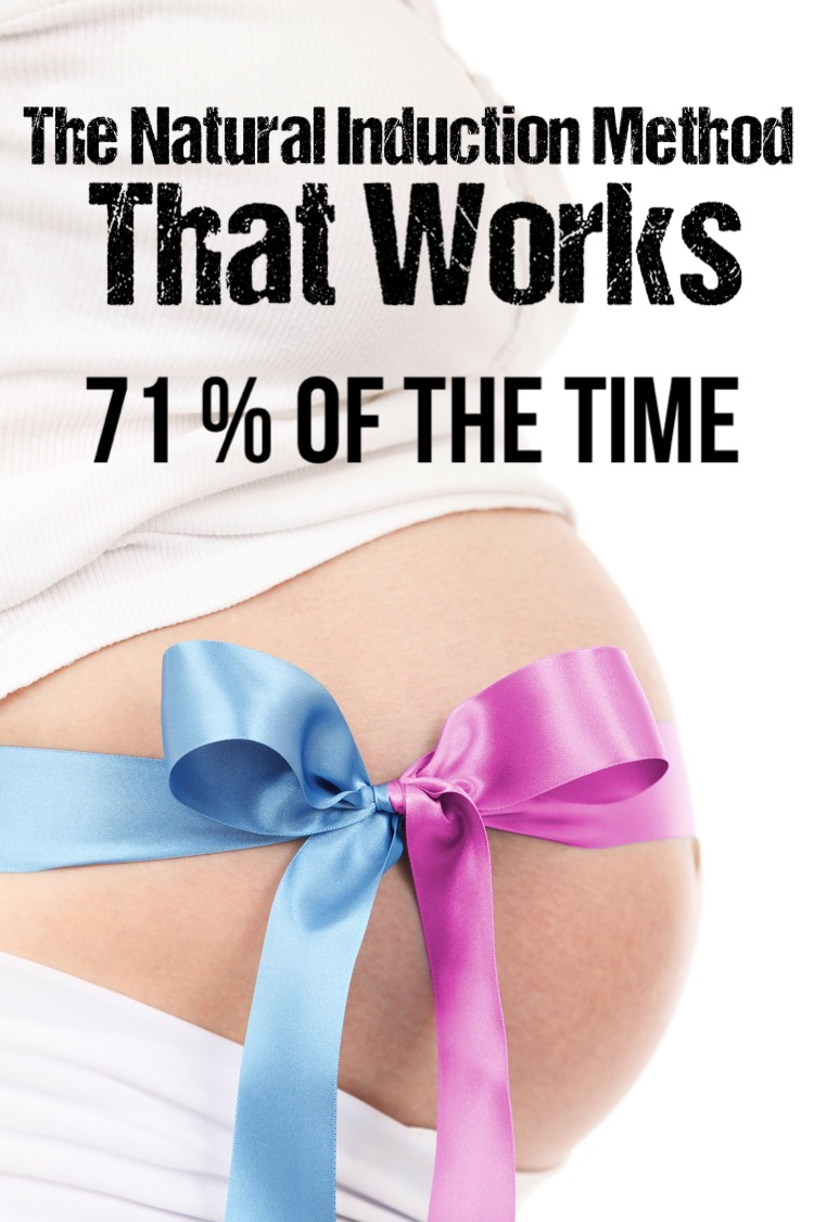 How to induce labor naturally. Natural induction method that works! RunHoly.com