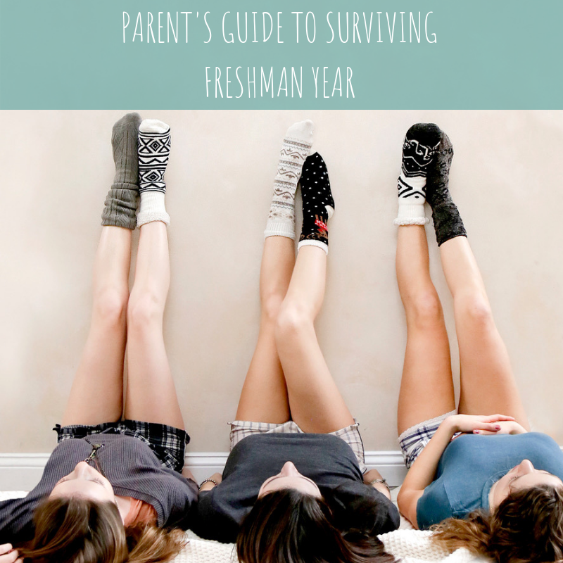 Parent's Guide to Surviving Freshman Year