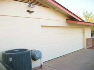 Garage Door Painted