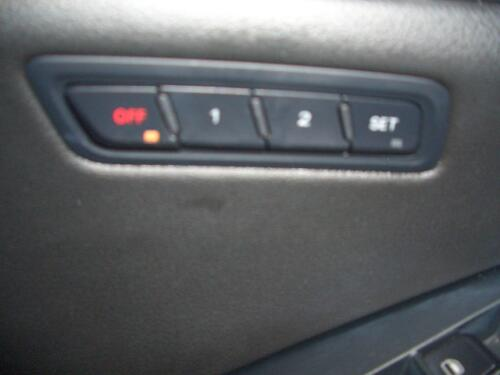 Seat Memory Knob