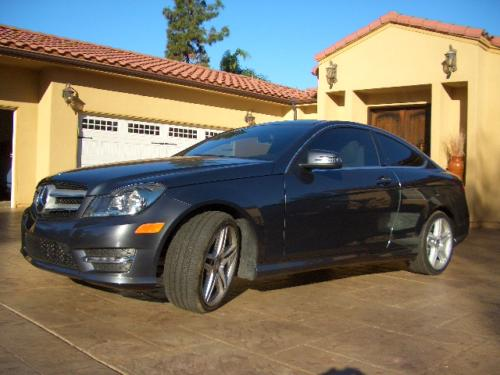2013 Mercedes C250 Coupe Beautiful Extremely Low miles Luxury Car!