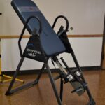 Yard sale inversion table