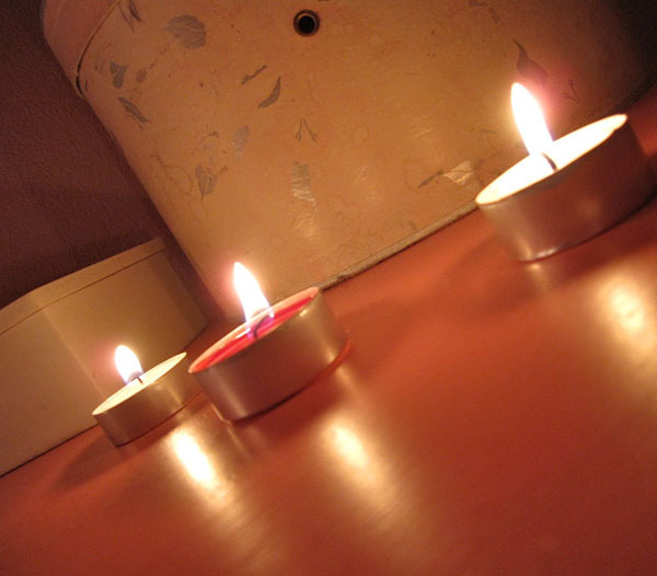 candles | the both and | shorts and longs | julie rybarczyk
