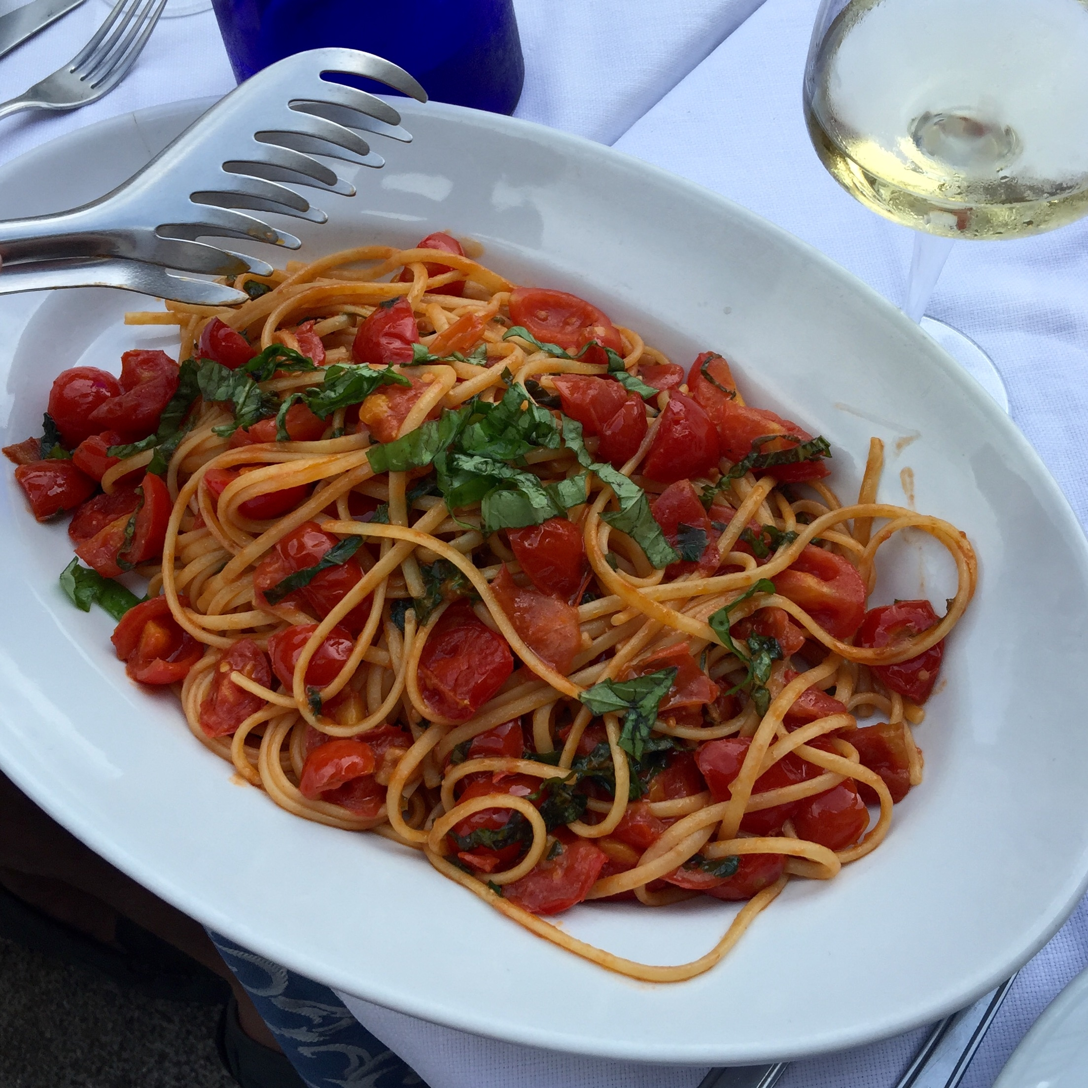 photo of big plat of pasta