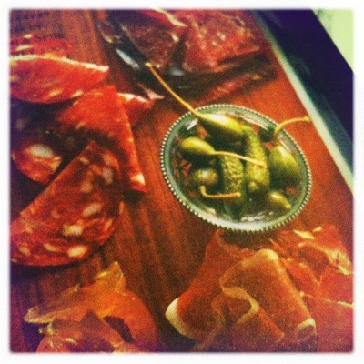 photo of charcuterie
