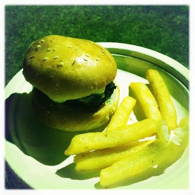 photo of mini wagyu burger