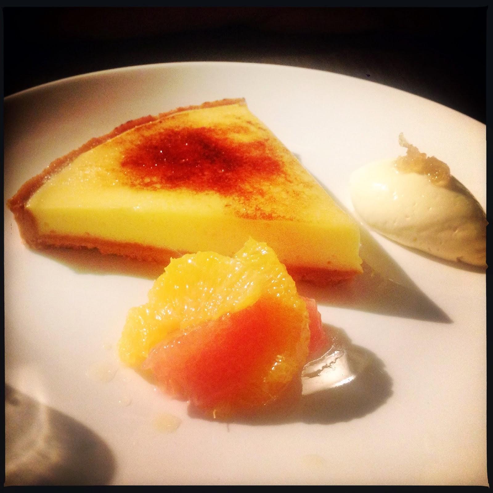 photo of lemon tart