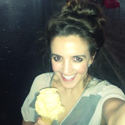 photo of girl with ice-cream