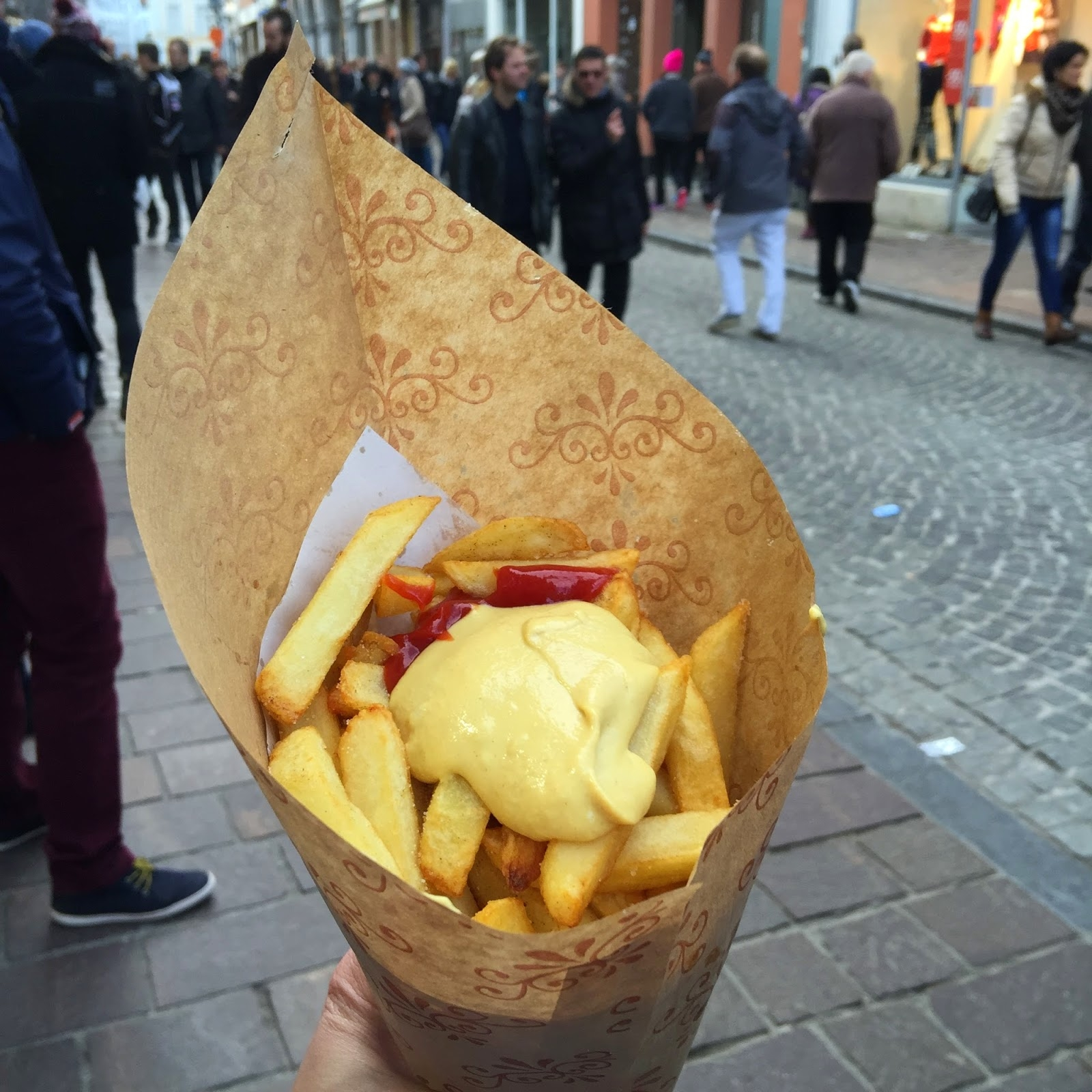 photo of cone of chips