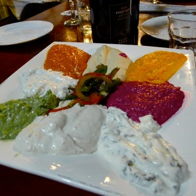 photo of Sultan's Table dips