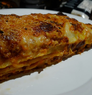 photo of lasagna