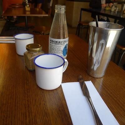 photo of table at Reuben Hills