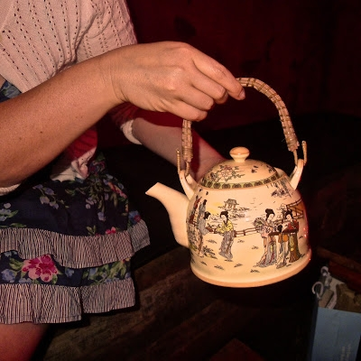 photo of teapot cocktail