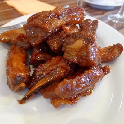 photo of red vinegar ribs