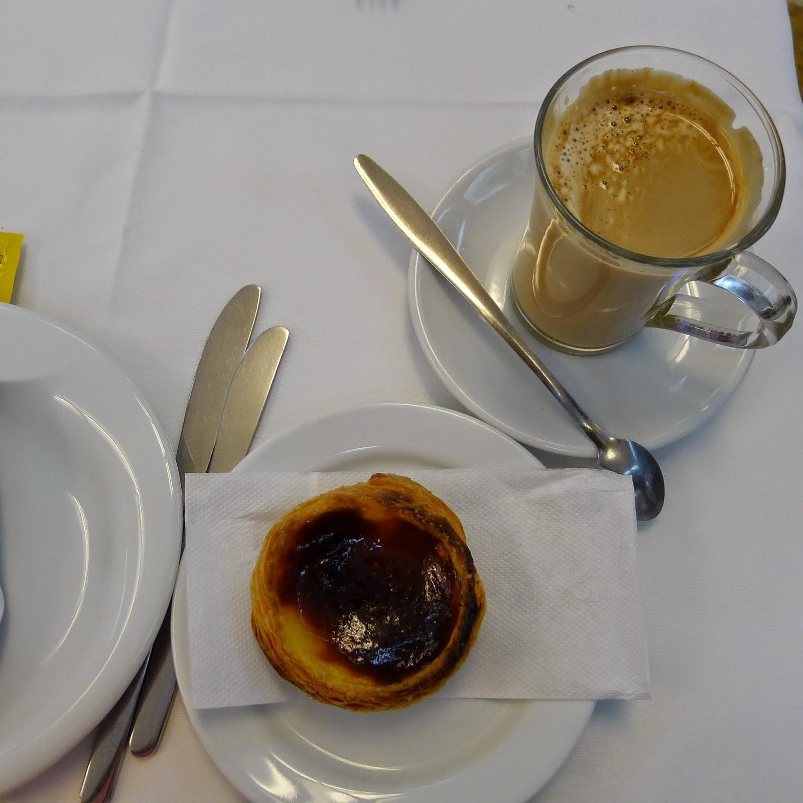 photo of Portuguese tart