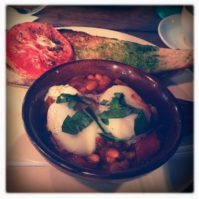photo of breakfast in a pan