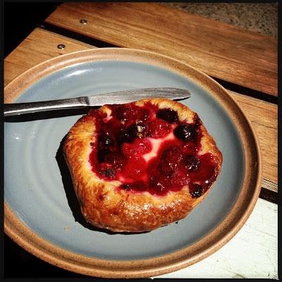 photo of berry danish