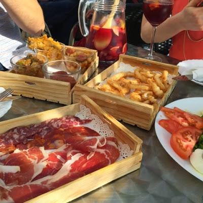 photo of tapas food