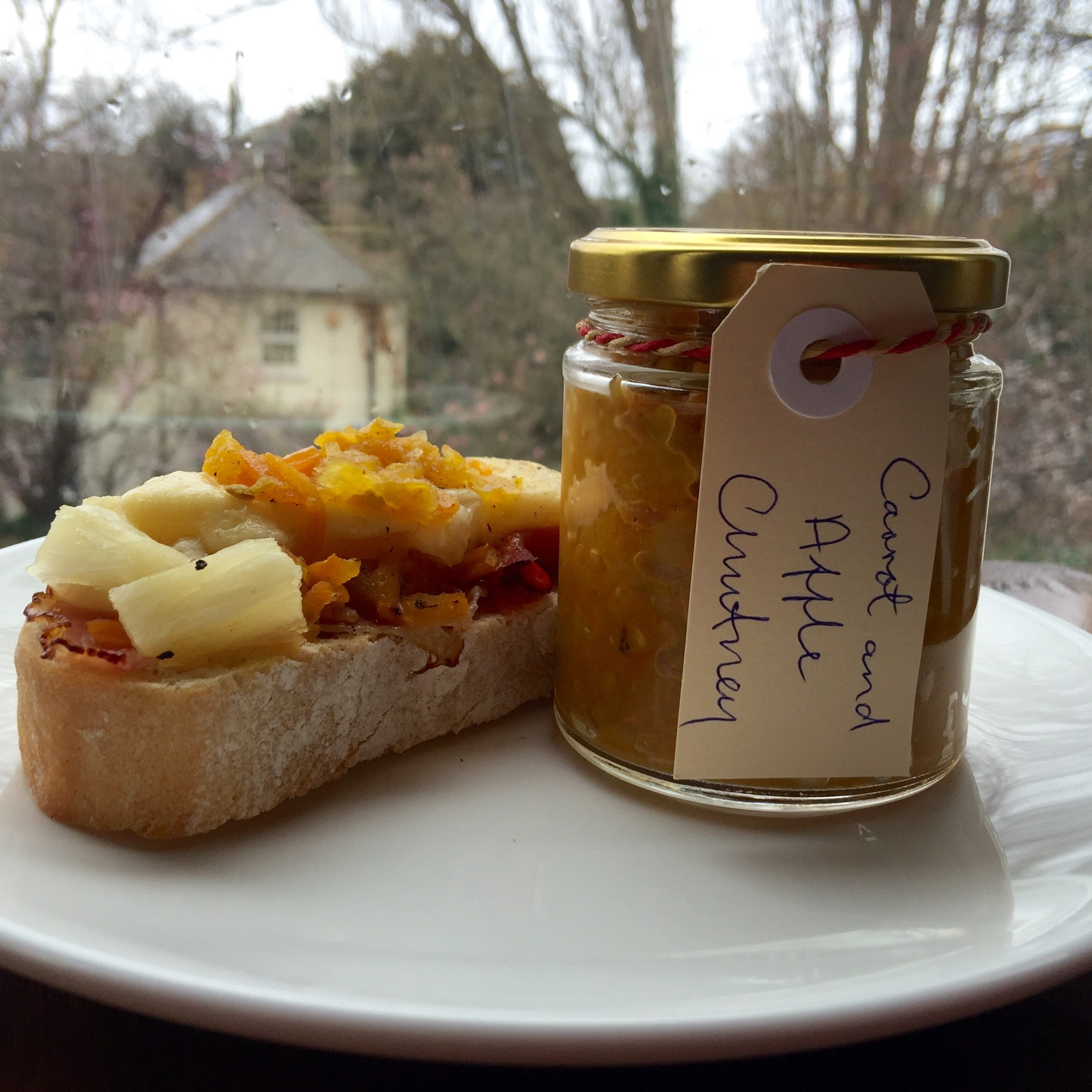 Carrot and Apple Chutney