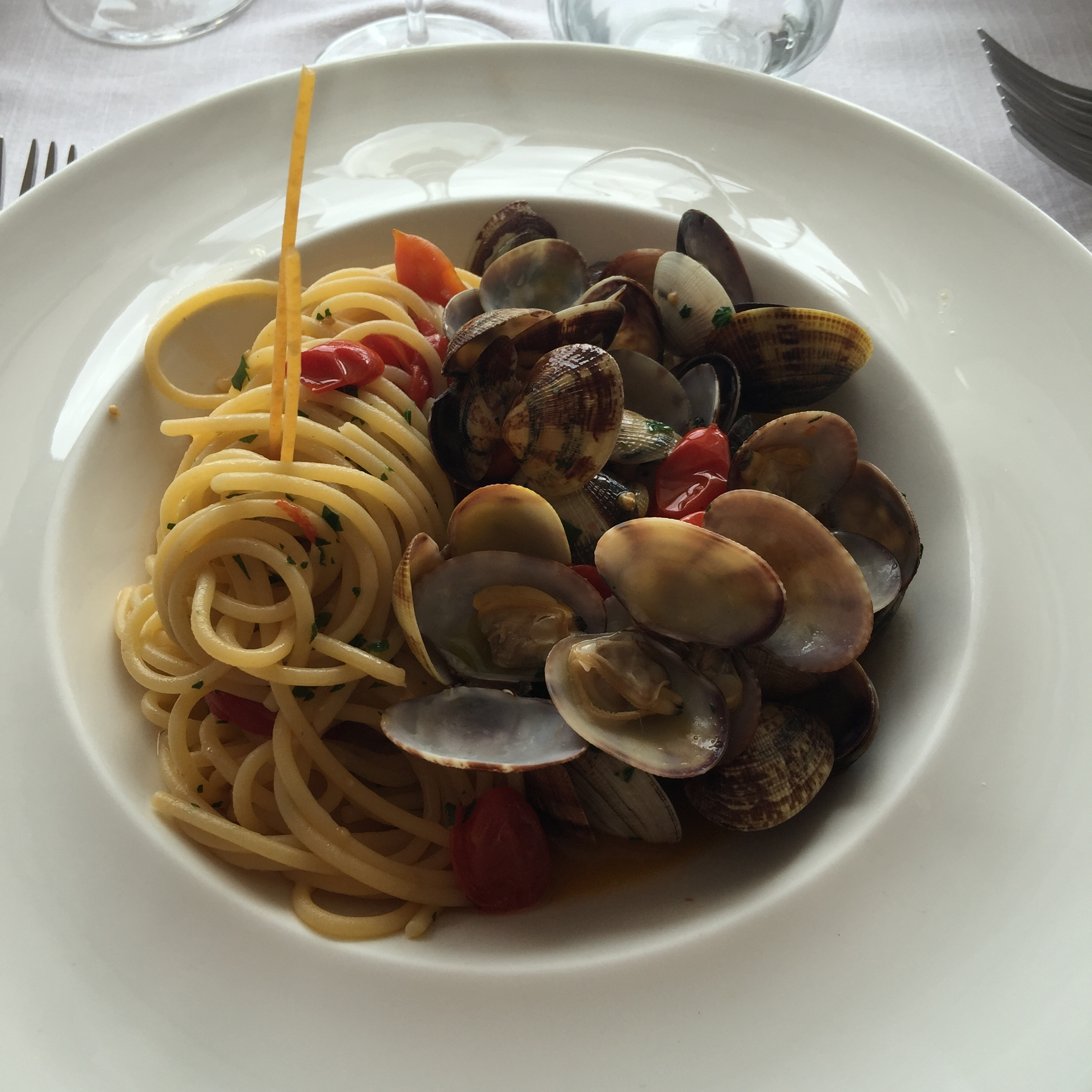 spaghetti with vongole