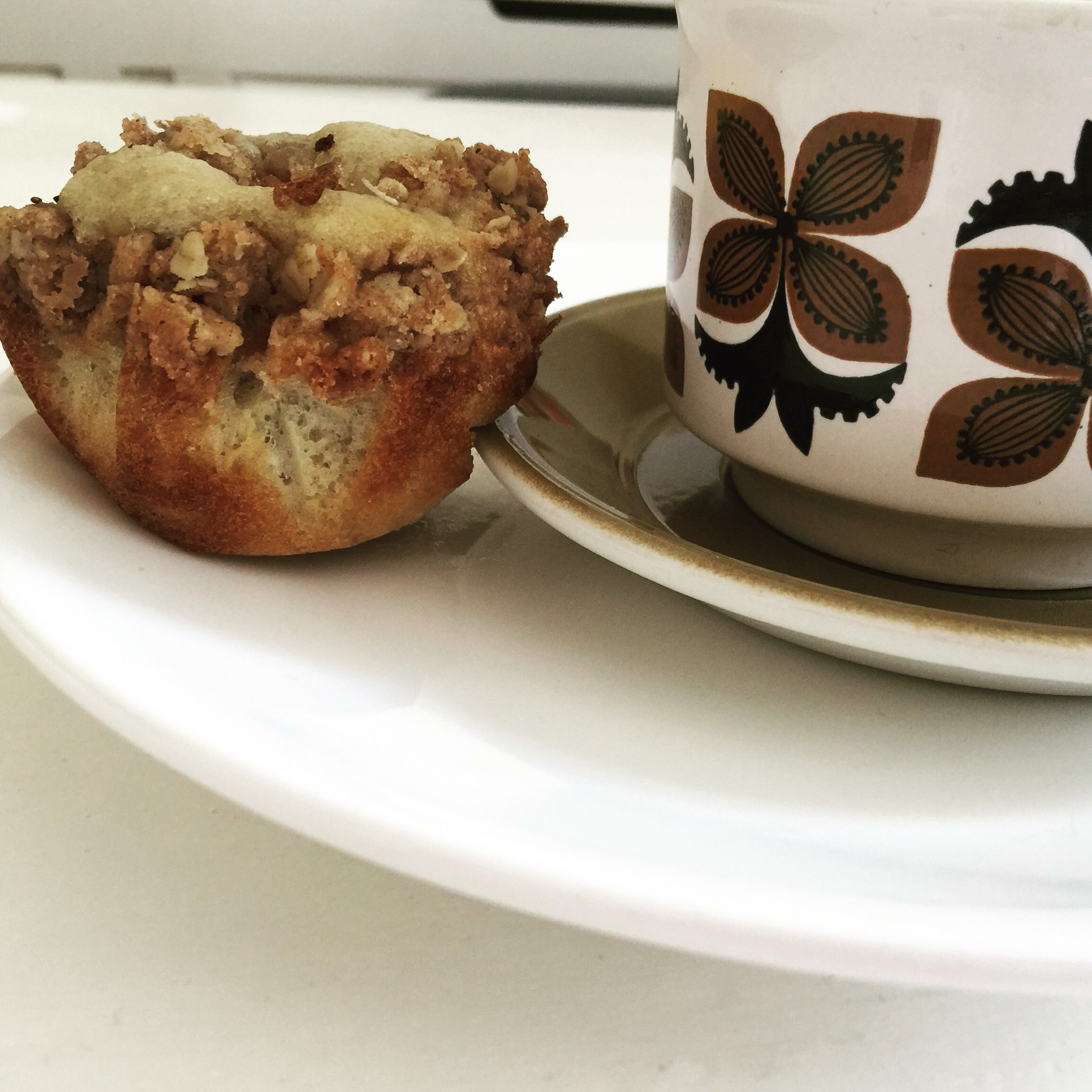 picture of muffin and coffee